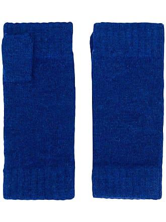 N.Peal Par de luvas sem dedos - Azul
