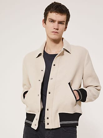 Iro BLOUSON TUCKER - ECRU - MEN