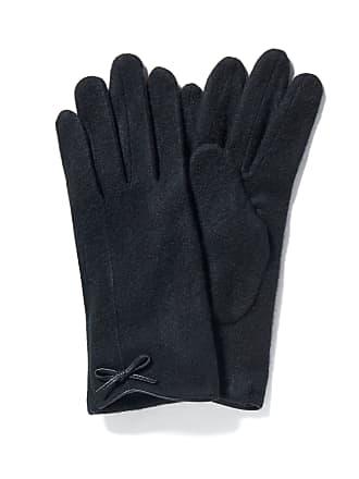 Forever New Bianca Bow Gloves - Black. - 00