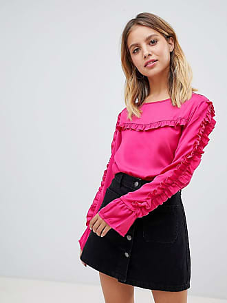 Only Frill Detail Blouse - Pink