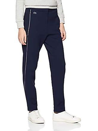 73d1554b95 Lacoste HF8747 Pantalon, Bleu (Navy Blue/Flour Hhw), W26 (Taille