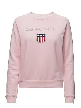 8a8adea44fa1 GANT Gant Shield Logo C-Neck Sweat Tröja Rosa GANT