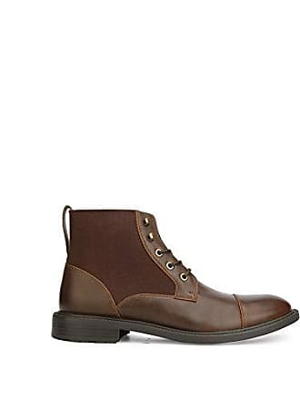 92b0d25d33 Unlisted by Kenneth Cole Mens ROLL B Fashion Boot Brown 13 M US