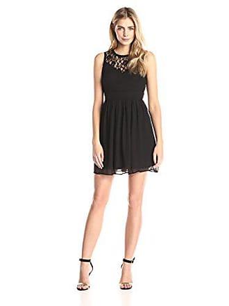 b1f49fbff Vero Moda VMAYA S L Mini Dress Noos-Vestido Mujer Schwarz Black 48