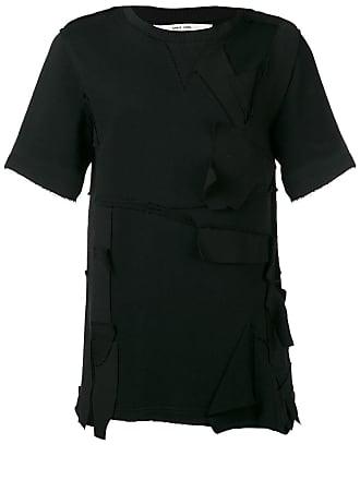 Damir Doma Camiseta com detalhes puídos - Preto