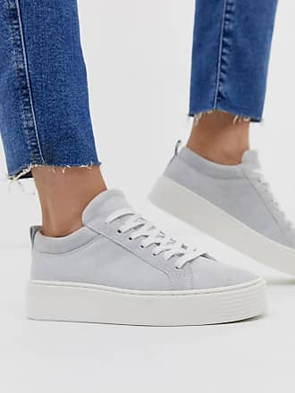 Vero Moda leather sneakers - White
