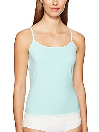 Cosabella Womens Sonia Sw Camisole, Tropical Water/Moon Ivory, Medium