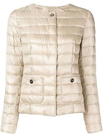 Herno padded overshirt jacket - Neutrals