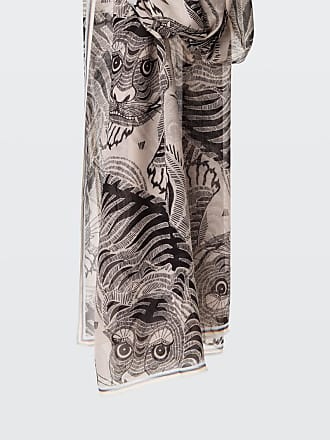 Dorothee Schumacher FANCY FELINE tiger print scarf