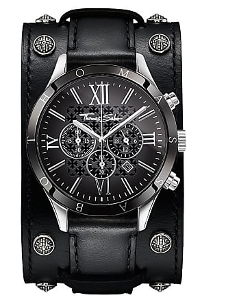Thomas Sabo Thomas Sabo Mens Watch black WA0140-218-203-43 MM