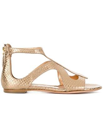 à brides Métallisé Alexander sandales McQueen StOwqgAE4
