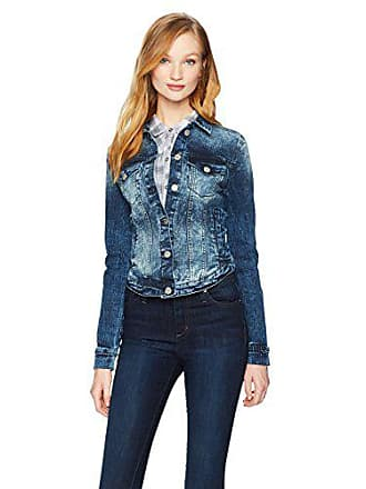 William Rast Womens Sussex Denim Jacket, Lucite/Fading, X Small