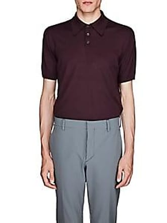 d060a620762d Prada Mens Virgin Wool Polo Shirt - Purple Size 46 EU