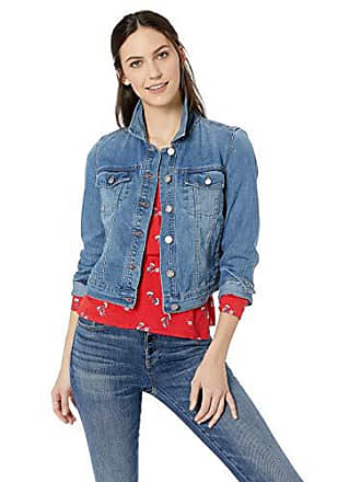William Rast Womens Lenna Denim Jean Jacket, Blue Flash X Small
