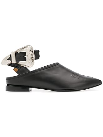 Toga Archives pointed buckle pumps - Preto