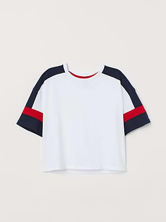 H&M Short T-shirt - White