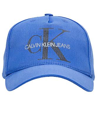 Calvin Klein BONÉ MASCULINO LONA LAVADA RE ISSUE - AZUL fc50f6bfb56
