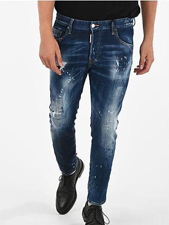Dsquared2 16cm Distressed and Printed SKATER Jeans Größe 50