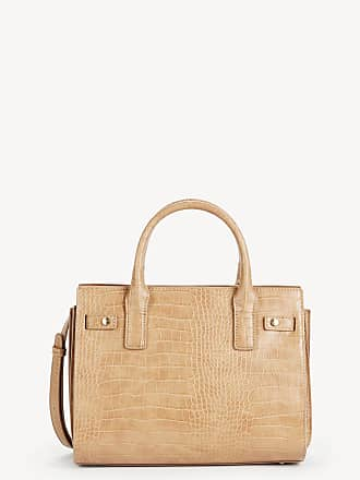 Sole Society Womens Estella Medium Satchel Exotic Vegan In Color: Camel Bag Vegan Leather From Sole Society