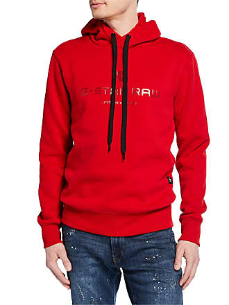 G-Star Mens Logo Graphic Pullover Hoodie