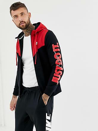 330710bf2154 Nike JDI Zip Through Hoodie In Black 931900-011