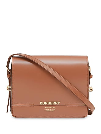 b12b6699f6c1 Burberry Small Two-tone Leather Grace Bag - Brown