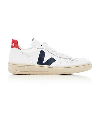 Veja V10 Nautico Leather Sneakers