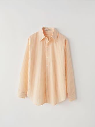 Acne Studios FN-WN-BLOU000080 Beige/pink Striped shirt