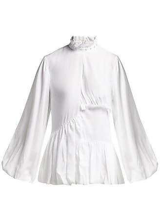 ae6a8721af6302 Marques Almeida Marquesalmeida - Ruffled Woven Blouse - Womens - White