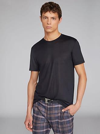 Etro Silk T-shirt, Man, Black, Size S