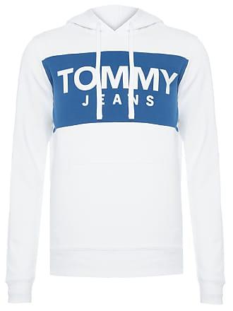 Tommy Jeans BLUSA MASCULINA BOLD LOGO HOODIE - BRANCO