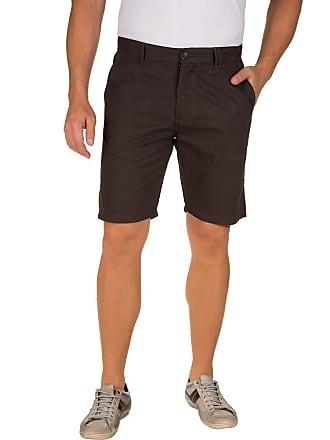 Colombo Bermuda Masculina Cinza Escuro Lisa 50057 Colombo