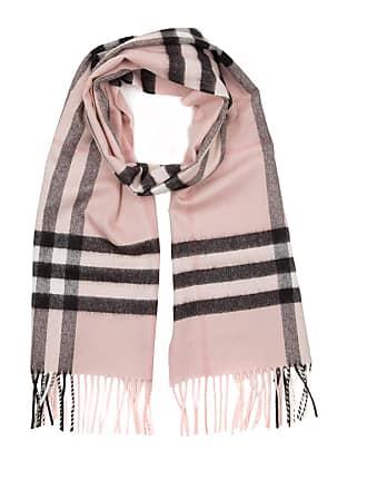 de39ff0da98bd Burberry Giant Check Cashmere Scarf Ash Rose Accessoire rosa