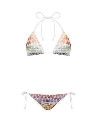 eb9ec3a37f Missoni Crochet Knit Halterneck Bikini - Womens - Multi