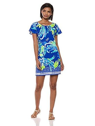 769d3574bf Lilly Pulitzer Womens Marah, Twilight Blue Nest to Nothing Engineered Dress,  XS