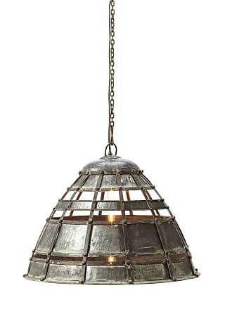 Dimond Home ELK Home Fortress 1-Light Pendant in Distressed Silver
