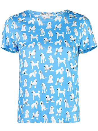 Alice & Olivia Rylyn T-shirt - Blue