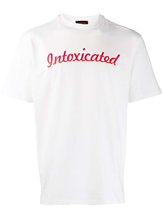 Intoxicated Camiseta com estampa de logo - Branco