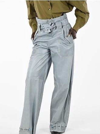 Drome Wide Leg Leather Pants Größe Xs