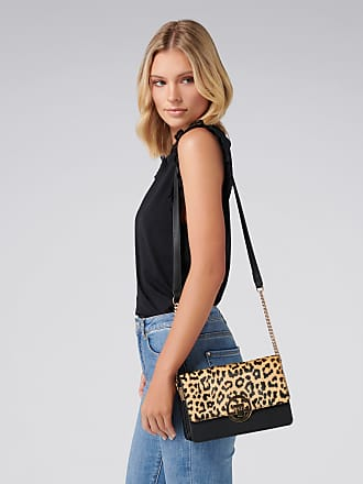 Forever New Nadine Crossbody Bag - Leopard Print - 00