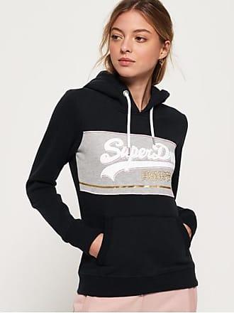 e5b054ea5695 Superdry Sweat à capuche à bloc de couleur et logo Vintage