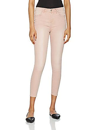 6341a2a1aa New Look Kelly Coloured, Jeans skinny Skinny Femme, Rose (Nude), 38