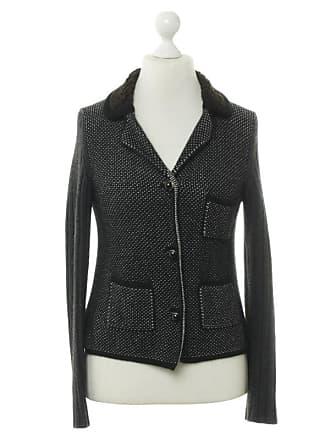 8ff94dda2ebbf Prada gebraucht - Boucle Jacke - DE 40 - Damen - Schwarz   Weiß