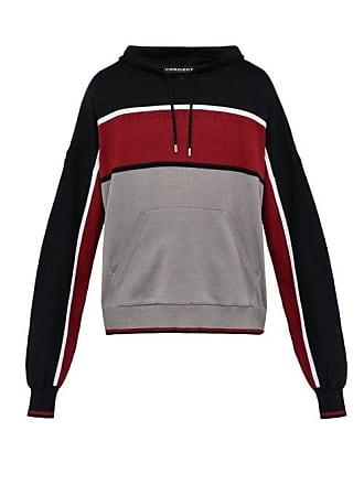 Y / Project Y/project - Cotton Blend Hooded Sweatshirt - Mens - Black