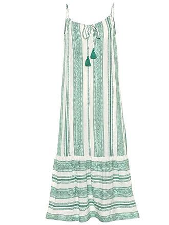 Velvet Lynda patterned cotton midi dress