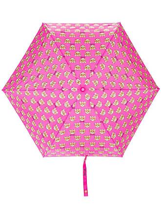 Moschino teddy bear print umbrella - Pink