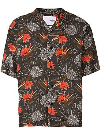 Yoshiokubo aloha camp collar shirt - Multicolour