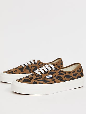 dd8427b056 Vans Anaheim Authentic plimsolls with cheetah print in brown