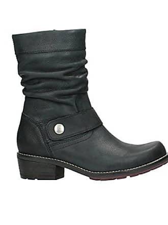 6e061f6ad94baf Wolky Comfort Stiefel Desna - 10000 schwarz geöltes Veloursleder - 42