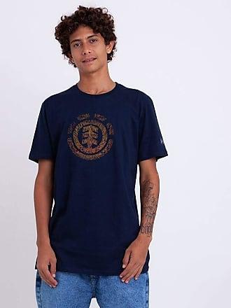 Element Camiseta Element Brighter Days Azul Marinho